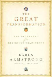 Cover art for THE GREAT TRANSFORMATION