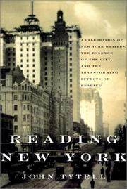READING NEW YORK by John Tytell