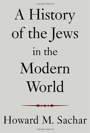 Book Cover for A HISTORY OF THE JEWS IN THE MODERN WORLD