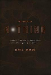 Cover art for THE BOOK OF NOTHING