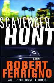 Book Cover for SCAVENGER HUNT