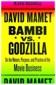 Cover art for BAMBI VS. GODZILLA