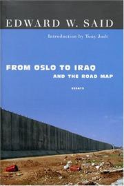 Book Cover for FROM OSLO TO IRAQ AND THE ROAD MAP