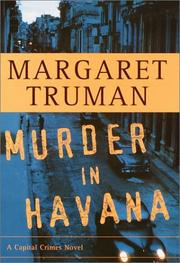MURDER IN HAVANA by Margaret Truman