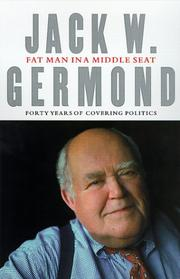 FAT MAN IN A MIDDLE SEAT by Jack W. Germond