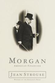 MORGAN by Jean Strouse