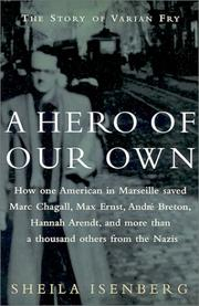 A HERO OF OUR OWN by Sheila Isenberg
