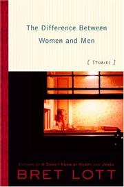Cover art for THE DIFFERENCE BETWEEN WOMEN AND MEN