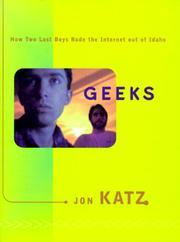 GEEKS by Jon Katz