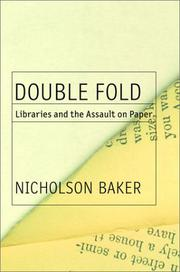 DOUBLE FOLD by Nicholson Baker