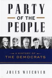 Cover art for PARTY OF THE PEOPLE