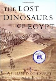 THE LOST DINOSAURS OF EGYPT by William Nothdurft