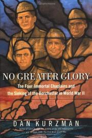 Cover art for NO GREATER GLORY