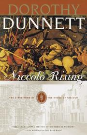 NICCOLÒ RISING by Dorothy Dunnett