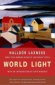 WORLD LIGHT by Halldór Laxness