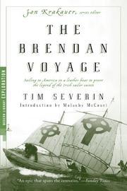 THE BRENDAN VOYAGE by Tim Severin