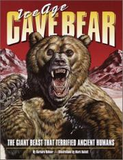 Book Cover for ICE AGE CAVE BEAR
