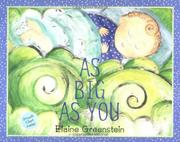 AS BIG AS YOU by Elaine Greenstein