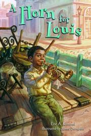 A HORN FOR LOUIS by Eric Kimmel