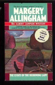 THE ESTATE OF THE BECKONING LADY by Margery Allingham