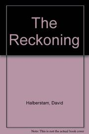 THE RECKONING by David Halberstam
