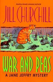 WAR AND PEAS by Jill Churchill