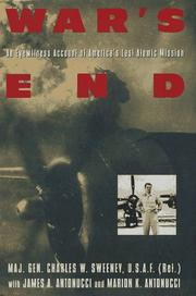 WAR'S END by Charles W. Sweeney