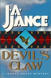 DEVIL'S CLAW by J.A. Jance