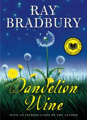 Cover art for DANDELION WINE