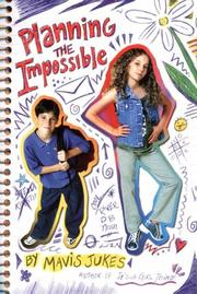 Cover art for PLANNING THE IMPOSSIBLE