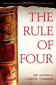 Book Cover for THE RULE OF FOUR