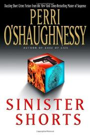 SINISTER SHORTS by Perri O'Shaughnessy