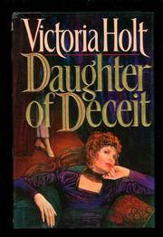 Cover art for DAUGHTER OF DECEIT