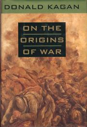 Book Cover for ON THE ORIGINS OF WAR AND THE PRESERVATION OF PEACE