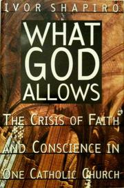 WHAT GOD ALLOWS by Ivor Shapiro