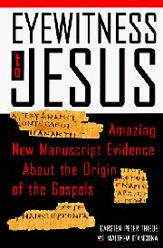 EYEWITNESS TO JESUS by Matthew d'Ancona
