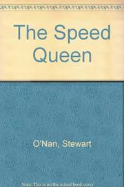 THE SPEED QUEEN by Stewart O'Nan