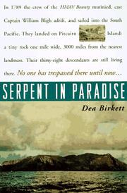 SERPENT IN PARADISE by Dea Birkett