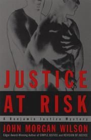 Cover art for JUSTICE AT RISK