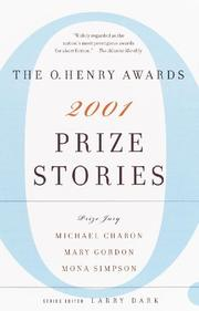 PRIZE STORIES 2001 by Larry Dark
