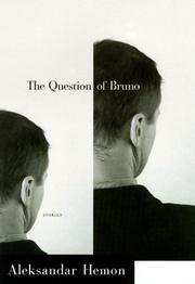 Cover art for THE QUESTION OF BRUNO