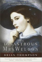 Cover art for THE DISASTROUS MRS. WELDON