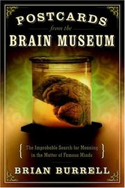 POSTCARDS FROM THE BRAIN MUSEUM by Brian Burrell