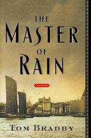 MASTER OF RAIN by Tom Bradby