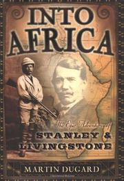 Cover art for INTO AFRICA