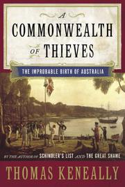 Book Cover for A COMMONWEALTH OF THIEVES