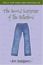 Book Cover for THE SECOND SUMMER OF THE SISTERHOOD