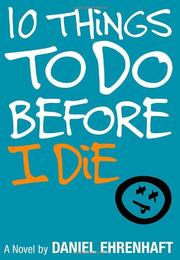 Cover art for 10 THINGS TO DO BEFORE I DIE