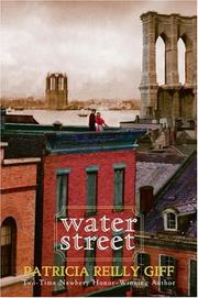 Cover art for WATER STREET