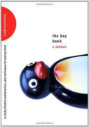 Cover art for THE BOY BOOK